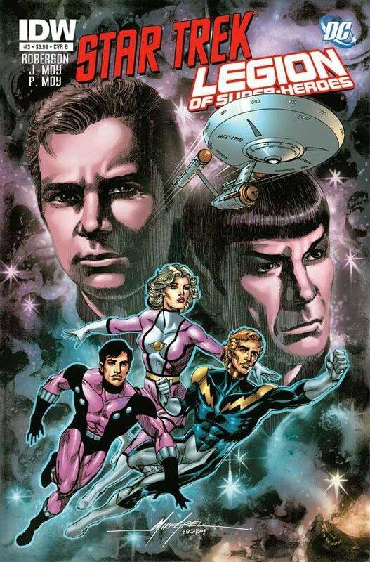 IDW star trek legion of super-heroes 03 cvr b