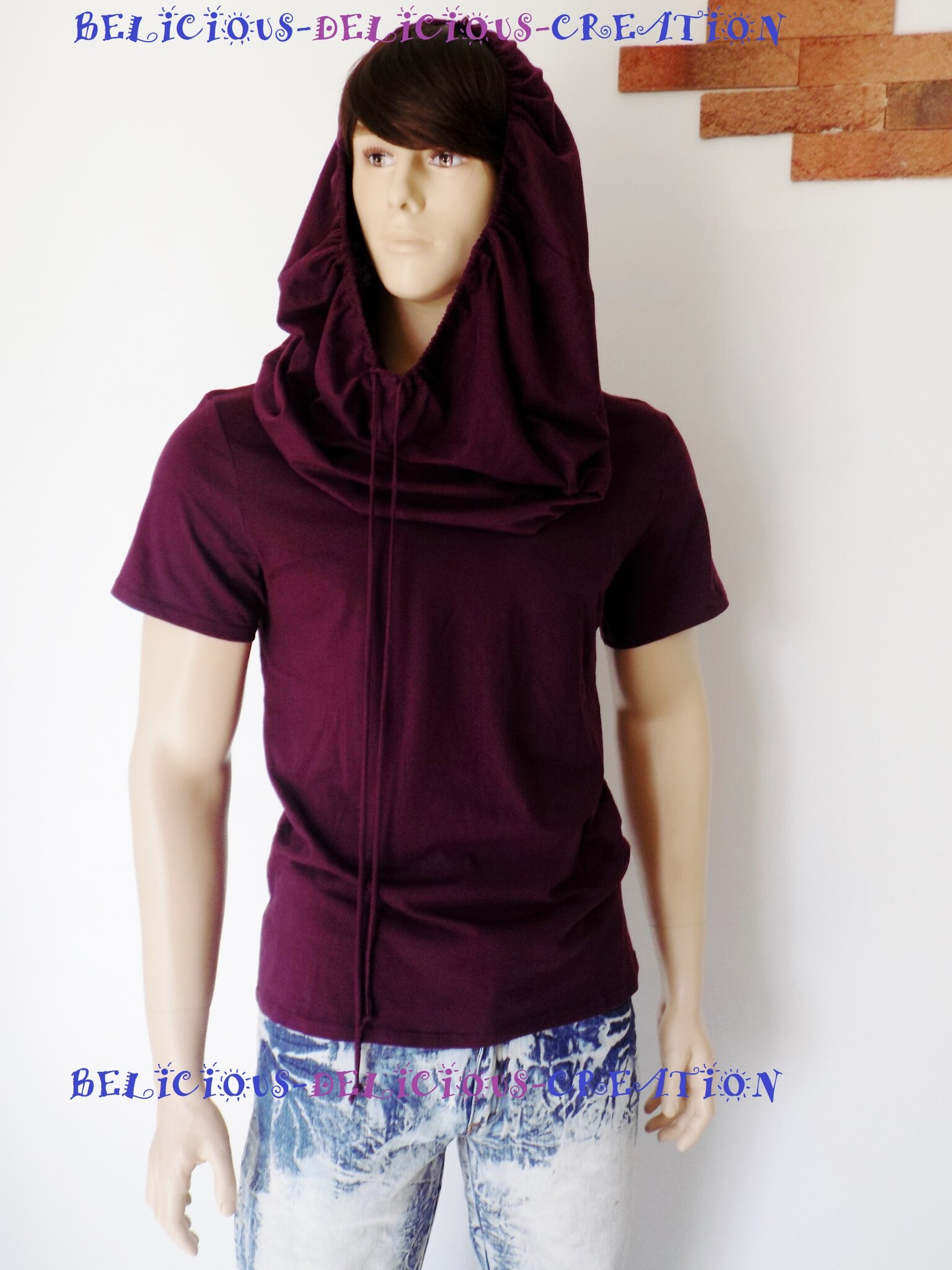 hoody purple for men d