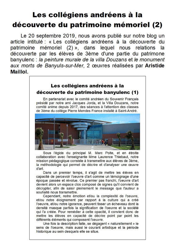 Article 2 - Scolaires - Page 1