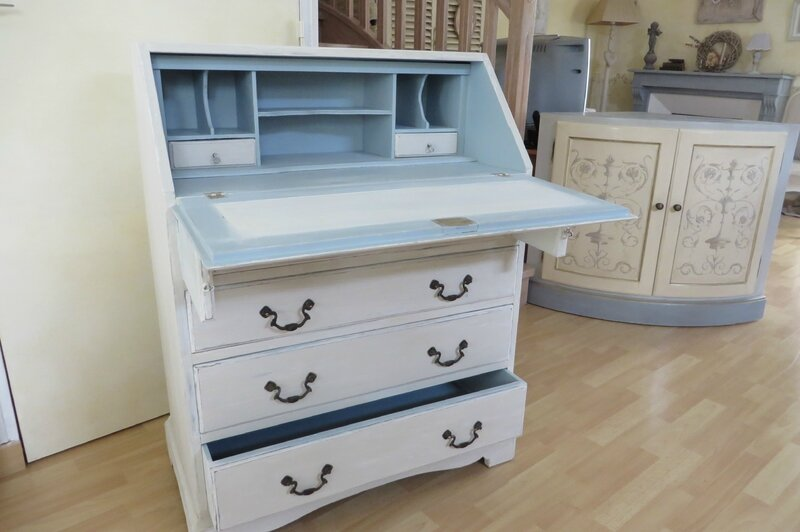 secretaire patiné