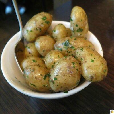 Pommes de terre au beurre