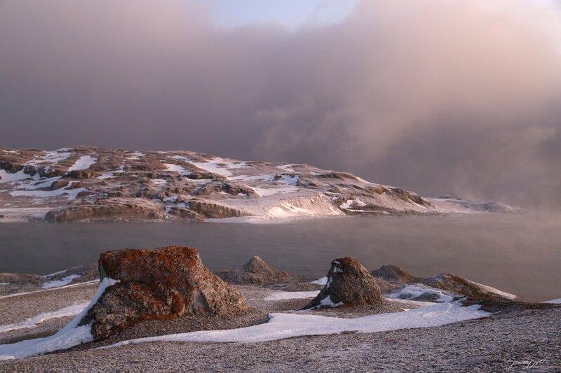lumiere paysage arctique