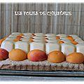 Entremets abricots