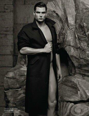 Florent Manaudou par Karl Lagerfeld pour Numéro Magazine