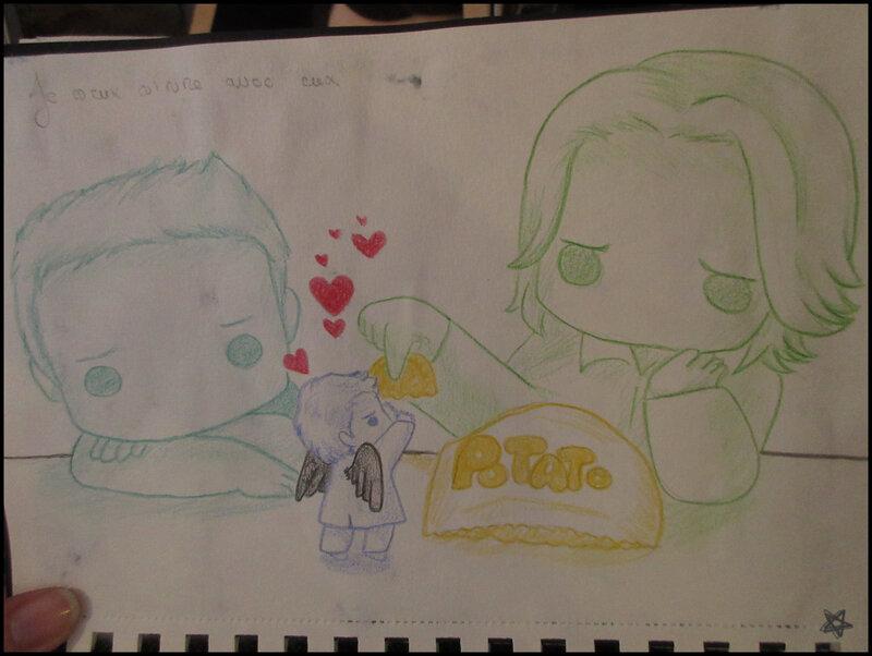 dessins du carnet Castiel (4)