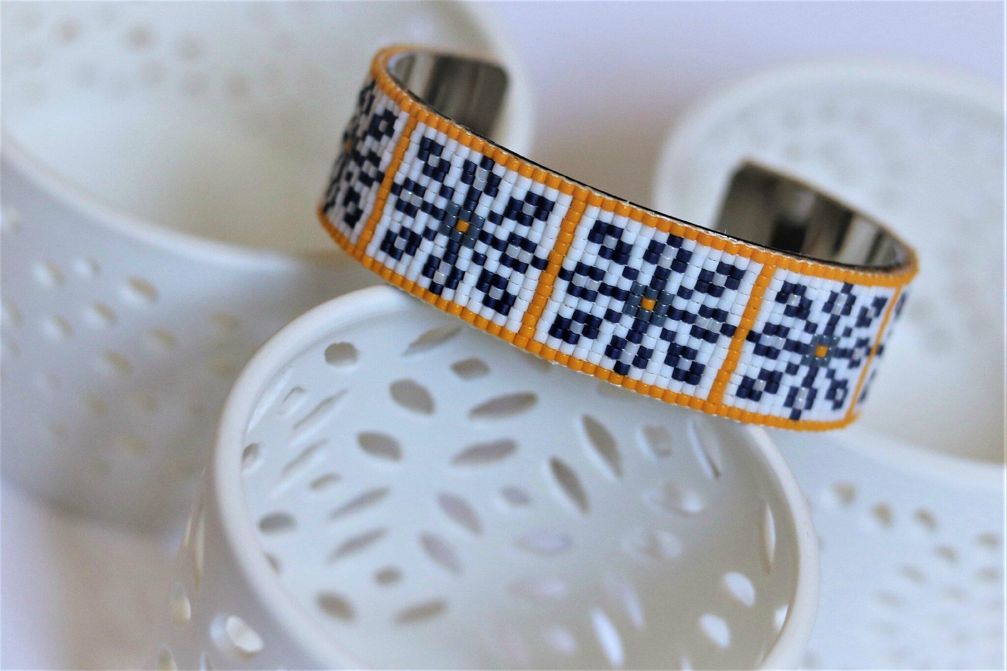 Des Azulejos sur mes bracelets !