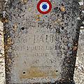 Baudoin henri (chatillon sur indre) + 03/09/1916 avignon (84)