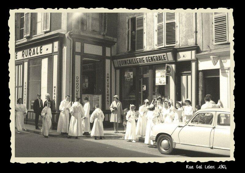 RUE GAL LECLERC 1964