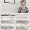 Article expo Brigitte WILLEM