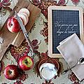 Goûter healthy : la gourmande tartine de pomme (ou donut fruité)
