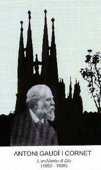 Serviteur de Dieu Antonio Gaudi