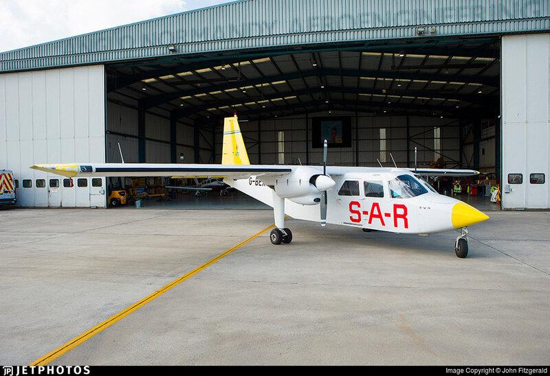 016 G-BEXJ Britten-Norman BN-2A-26 Islander N° de série 2020 Guernsey