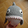 Le bonnet requin