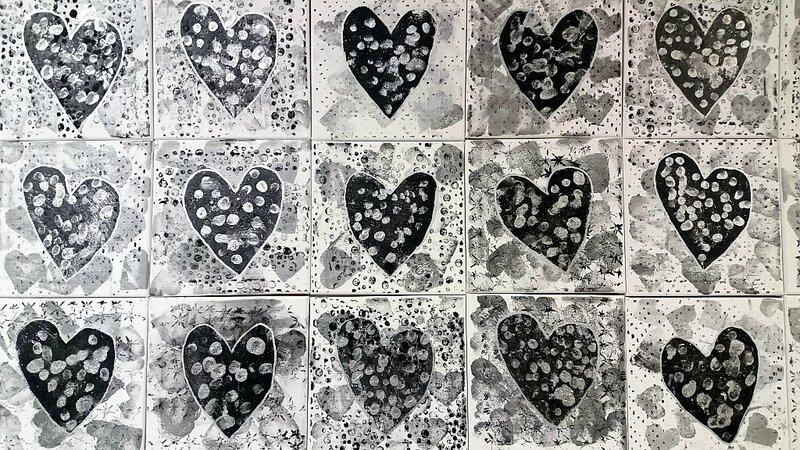 277_Noir et Blanc_Coeurs en noir et blanc (48)