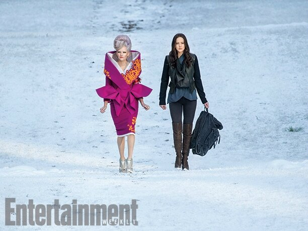 Mockingjay - Part 2 Elizabeth Banks & Jennifer Lawrence