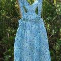 2005 - robe bretelle M&T taille 4 ans
