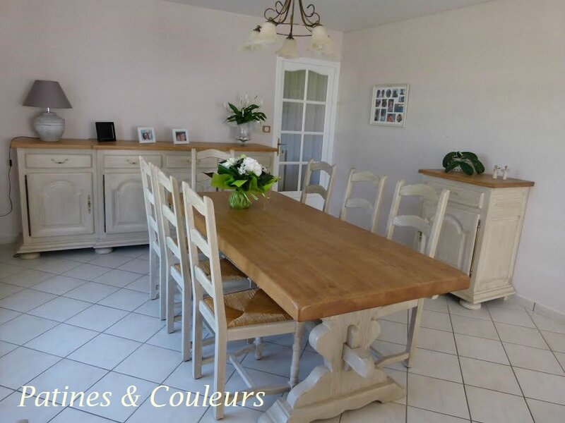 Une Salle A Manger Renovee Patines Couleurs