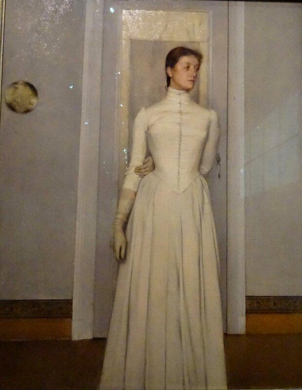 Khnopff Marguerite Khnopff 1887