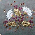 Fleur juillet blanche
