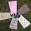 Des serviettes pour les grands enfants