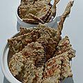 Crackers aux graines avec ou sans gluten