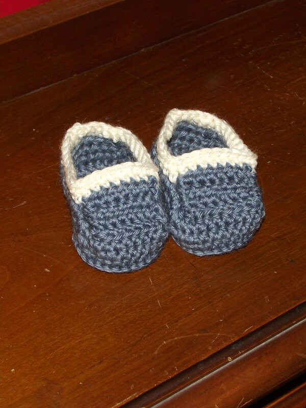 Chaussons-mocassins bébé laine Idéal persan & meije 1