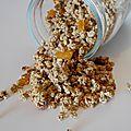 Granola aux abricots secs