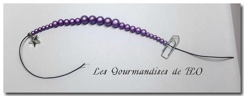 bracelet violet 2