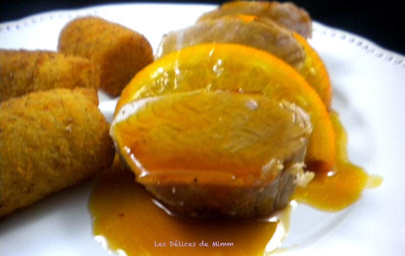 Filet mignon à l'orange 4