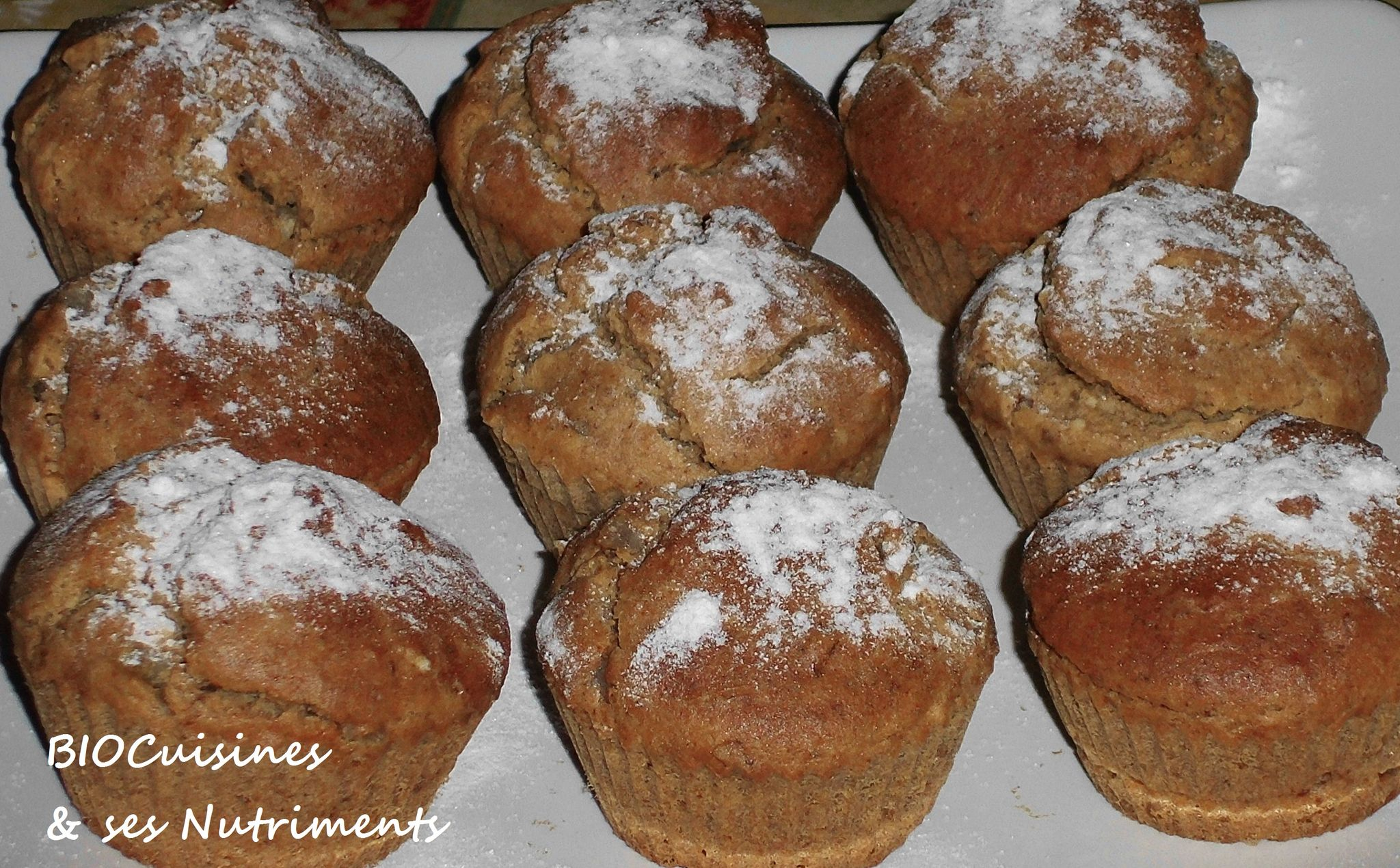 muffins citron yogourt