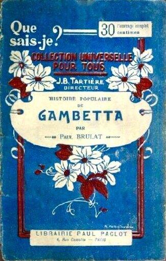 Histoire populaire de Gambetta couv