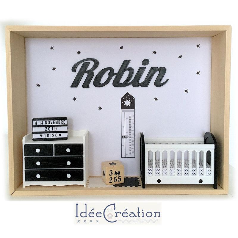 Vitrine miniature Robin insta