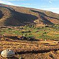 Taghia, plateau d'izourar