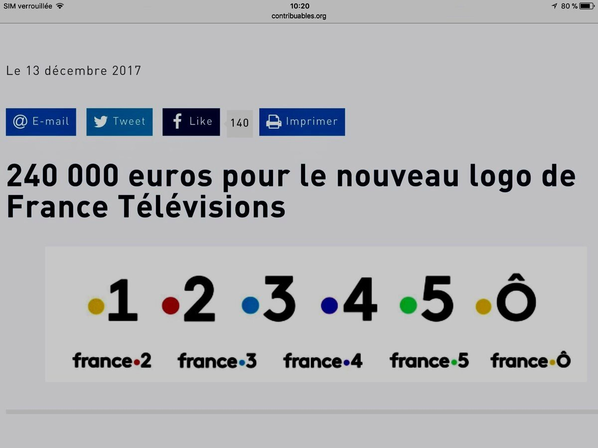 oui a la suppresion de la redevance télé