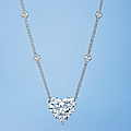 An important diamond pendant necklace, by leviev