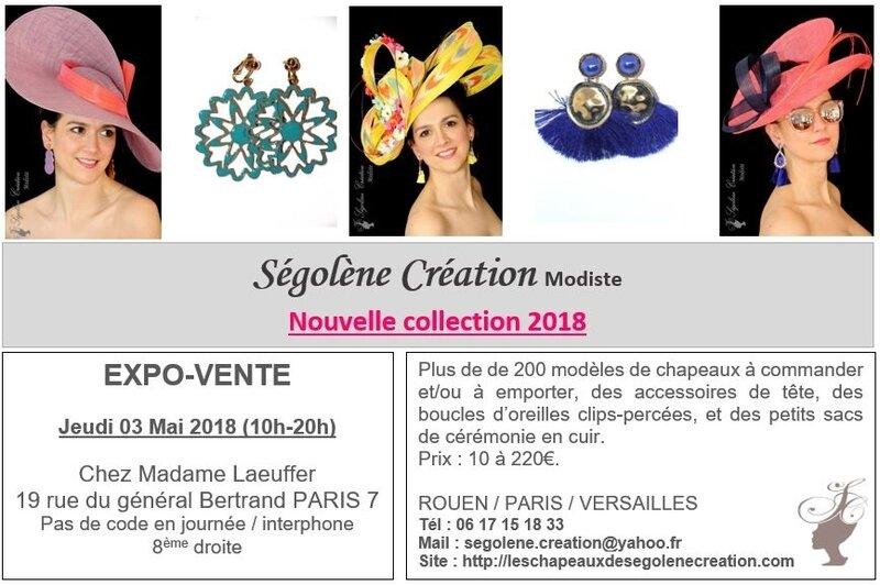 2018_05_03 expo Chapeaux PARIS Mme Laeuffer