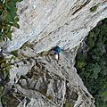 Grande voie - Voie du Dièdre - Montagne de l'Epenet