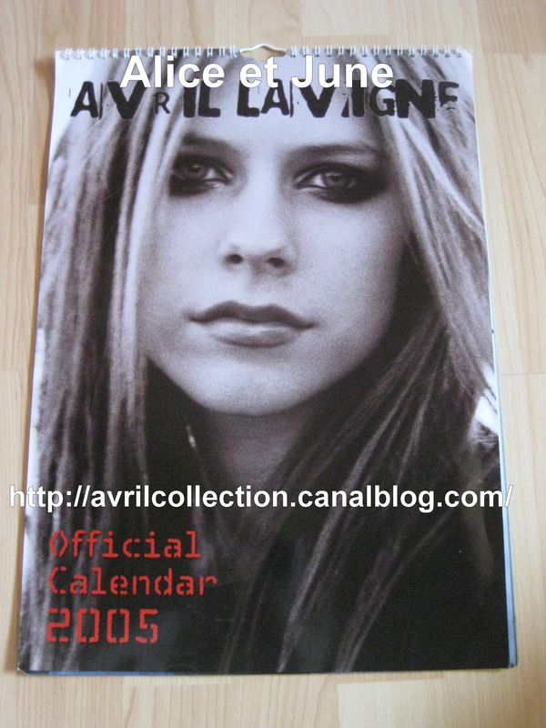 Calendrier officiel 2005