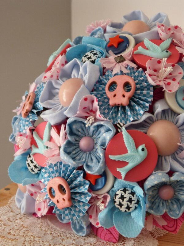 bouquet rock rose et bleu (6)