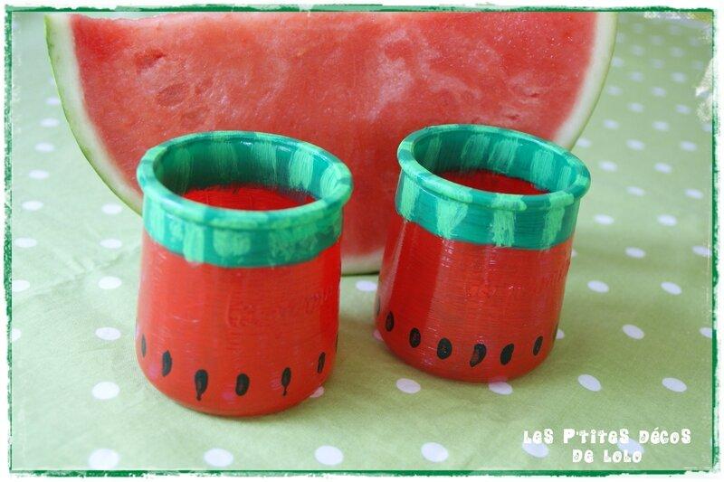 pots pastèque