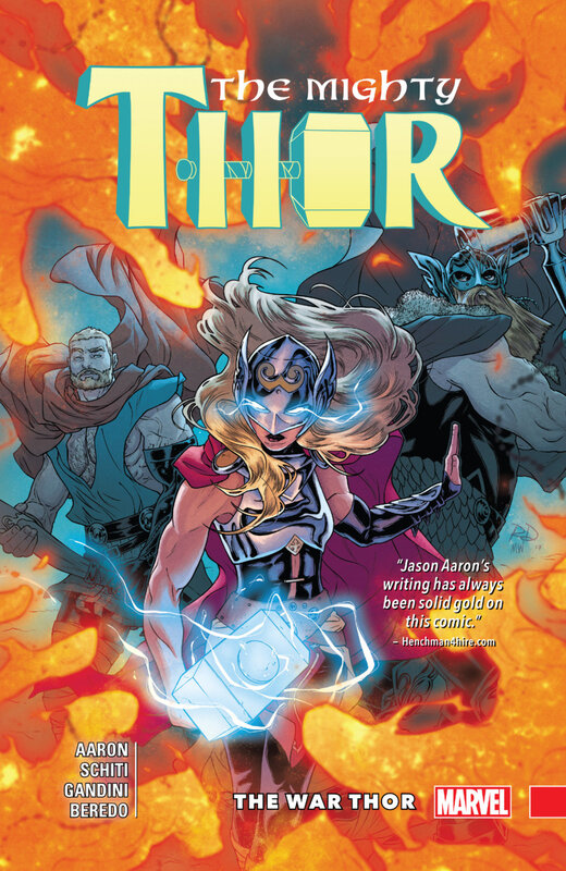 the mighty thor vol 04 the war thor HC