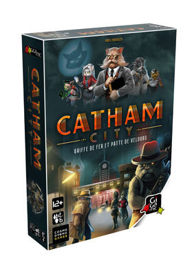 Boutique jeux de société - Pontivy - morbihan - ludis factory - Catham city