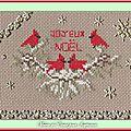 Échange ATC (Noël) Chez Manou Marie de Clessé pour Isaphanie 1