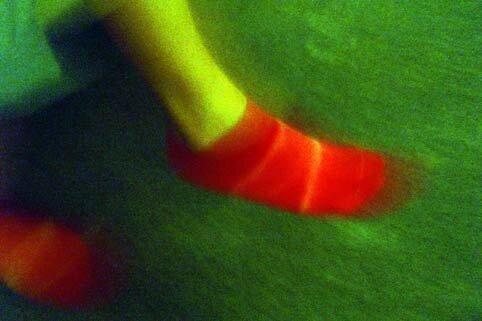 les pieds de maman