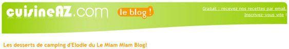 entete blog cuisine az