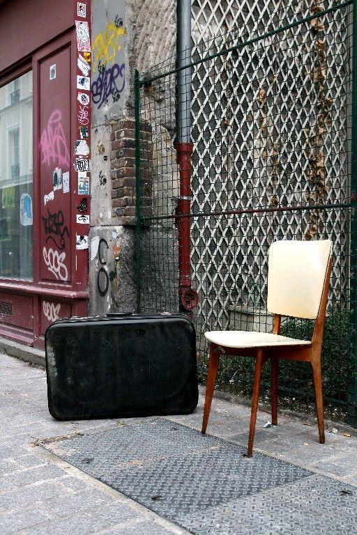 Chaise et valise Belleville_2151