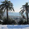 Photos de nice sous la neige