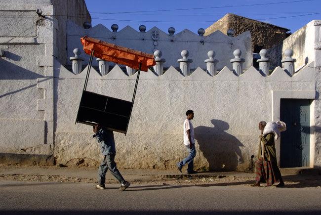 Dans l'ensceinte de la vieille ville d'Harar