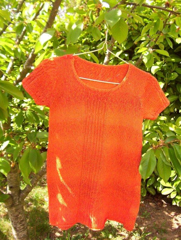 tunique orange