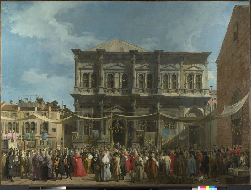 National Gallery London_Venice-The Feast Day of Saint Roch_preview